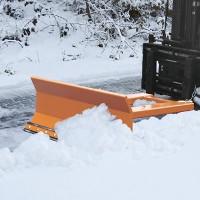 Schneeschieber zum Einsatz am Gabelstapler